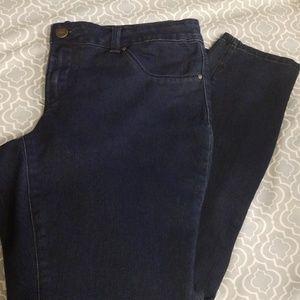 Jessica Simpson dark skinny jeans